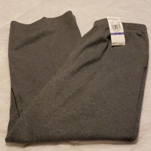 Alfred Dunner Athletic Joggers Lounge Pants 18S